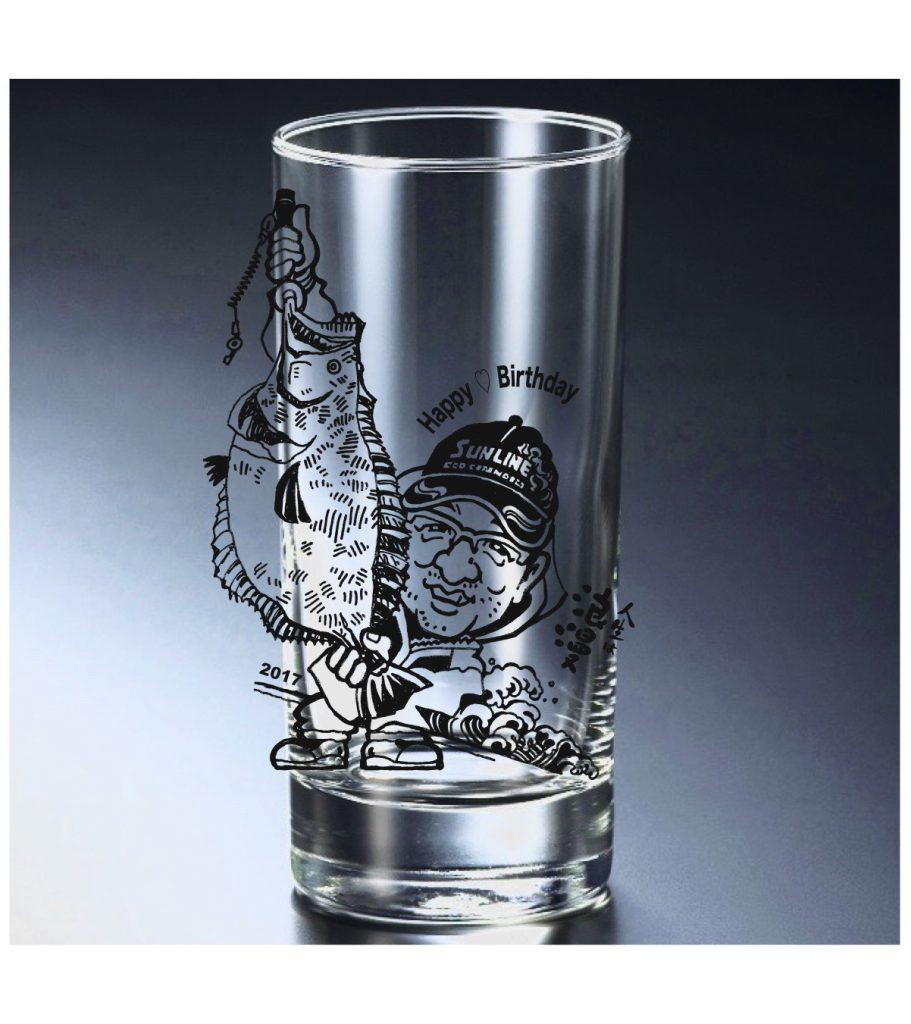 記念グラス/仕上がりイメージ